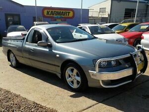 2004 Ford Falcon BA MkII XLS White 4 Speed Auto Seq Sportshift Utility North St Marys Penrith Area Preview