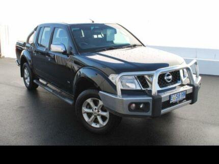 2012 Nissan Navara D40 ST-X 550 (4x4) Black 7 Speed Automatic Dual Cab Utility Devonport Devonport Area Preview