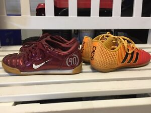 Youth / Kids Indoor Soccer Shoes / Nike and Adidas Strathcona County Edmonton Area image 2