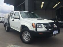 2011 Holden Colorado RC MY11 LX (4x4) White 5 Speed Manual Spacecab Beckenham Gosnells Area Preview