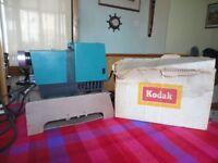 Vintage Kodaslide 40 slide projector c/w home made fan housing
