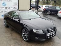 AUDI A5 2.7 TDI SPORT 3d AUTO 187 BHP (FINANCE & WARRANTY (black) 2008