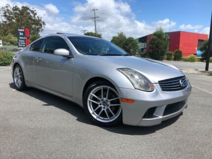 2003 Nissan Skyline V35 350GT Silver 5 Speed Automatic Coupe Arundel Gold Coast City Preview