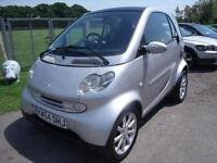 SMART FORTWO PASSION SOFTOUCH - FSH, Silver, Auto, Petrol, 2005
