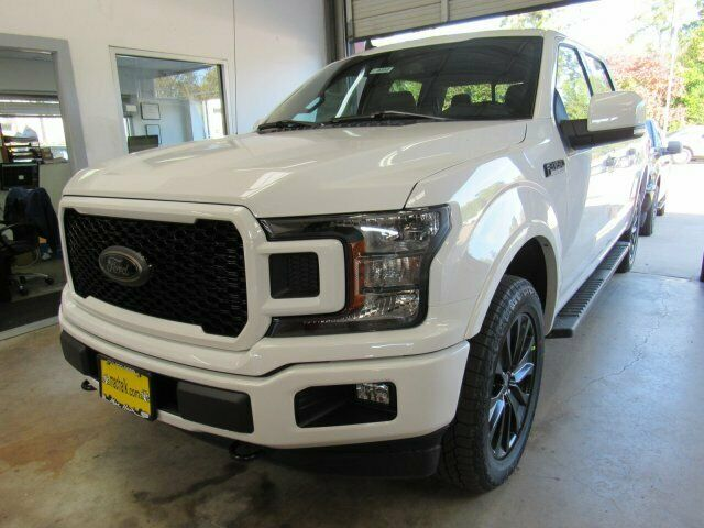 2020 Ford F-150 Lariat 5985 Miles Oxford White Crew Cab Pickup Twin Turbo Regula