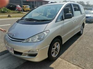 2005 Toyota Tarago ACR30R MY03 GLX Silver 4 Speed Automatic Wagon Underwood Logan Area Preview