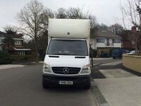 2012 Mercedes Benz Sprinter luton Van with tail lift