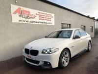 2015 BMW 5 SERIES 3.0 530D M SPORT 4D AUTO 255 BHP DIESEL