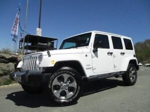 2017 Jeep WRANGLER SAHARA UNLIMITED (V6, AUTOMATIC, ONLY 15300 K