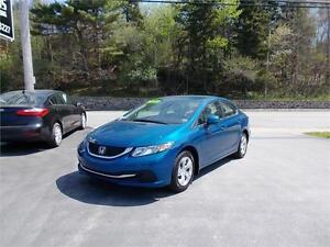 2013 HONDA CIVIC LX...LOADED!!! BLUETOOTH CONNECTIVITY & MORE!!