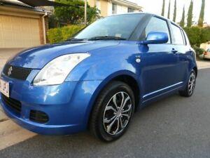 2006 Suzuki Swift EZ Blue 4 Speed Automatic Hatchback Southport Gold Coast City Preview