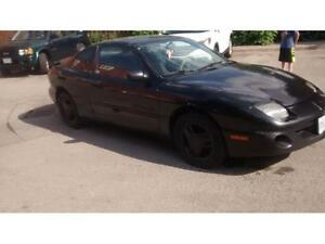 1998 Pontiac Sunfire GT 4Cyl 2.4 litter Black wont start Parts