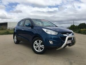 2010 Hyundai ix35 LM MY11 Elite AWD Blue 6 Speed Sports Automatic Wagon Garbutt Townsville City Preview
