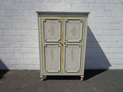 Armoire Closet Storage Dresser Chest of Drawers Highboy Bedroom Storage French