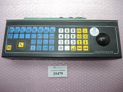 Key Board Graphtrack Article No. 100.240.9366 Netstal Synergy Control