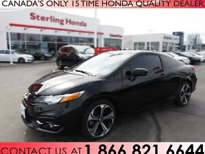 2015 Honda Civic Si | 1 OWNER | ACCIDENT FREE | TINT | AWM!!