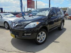 2012 Great Wall X200 K2 MY12 Black 5 Speed Automatic Wagon Holroyd Parramatta Area Preview
