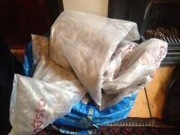 9 x woolpack insulation bags