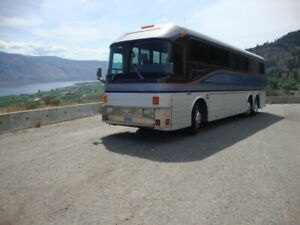 1969 Silver Eagle Model 07 Coach/Bus Conversion. BC registered