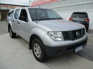 2007 Nissan Navara Silver Automatic Utility West Perth Perth City Area Preview