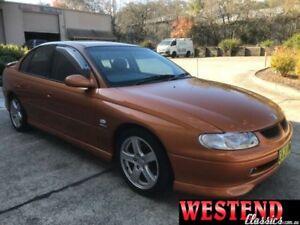 1999 Holden Commodore Vtii SS Orange 4 Speed Automatic Sedan Lisarow Gosford Area Preview