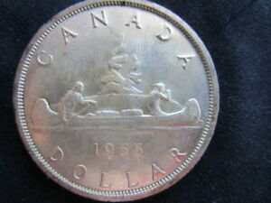 Vintage COIN FOR SALE,  SILVER CANADIAN DOLLAR.