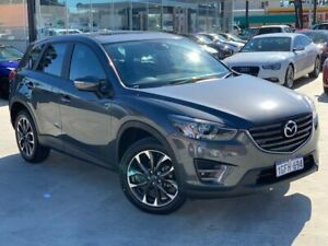 2016 Mazda CX-5 KE1032 Grand Touring SKYACTIV-Drive i-ACTIV AWD Grey 6 Speed Sports Automatic Wagon Palmyra Melville Area Preview