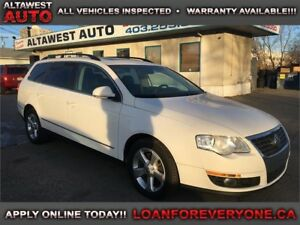 2008 Volkswagen Passat Wagon Trendline loaded leather s roof