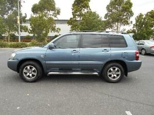 2006 Toyota Kluger MCU28R Upgrade CVX (4x4) Grey 5 Speed Automatic Wagon Maidstone Maribyrnong Area Preview