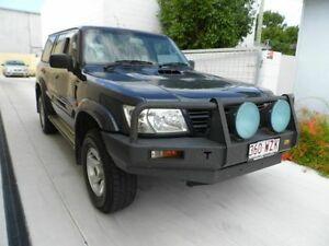 2003 Nissan Patrol ST-L (4X4) GU III Turbo Diesel Blue 5 Speed Manual Wagon Southport Gold Coast City Preview