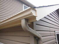 Continuous Eavestrough for Southern Alberta