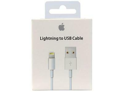 Apple iPhone 6S Plus 5S 7 Plus Lightning to USB Charger Cable 1m 3ft MD818ZM/A
