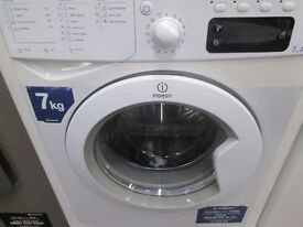 *INDESIT ECO TIME+LARGE 7KG DRUM+A CLASS+ WASHING MACHINE+VERY CLEAN+FREE DELIVERY*