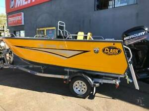 Clark 480 Rebel Side Console with 75hp Mercury Outboard Coorparoo Brisbane South East Preview