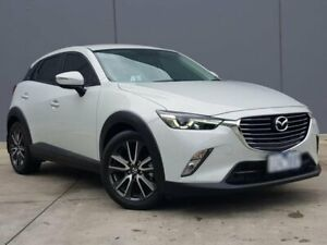 2016 Mazda CX-3 DK2W7A sTouring SKYACTIV-Drive White 6 Speed Sports Automatic Wagon Berwick Casey Area Preview