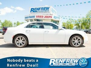 2018 Chrysler 300 C RWD, Pano Sunroof, Nav, Cooled/Heated Nappa