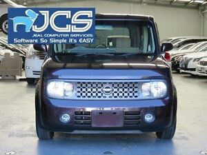 2008 Nissan Cube Burgundy Constant Variable Wagon Bayswater Knox Area Preview