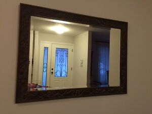 Gorgeous bevelled mirror