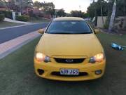 Yellow Ford Falcon BF XR6 Parkwood Gold Coast City Preview