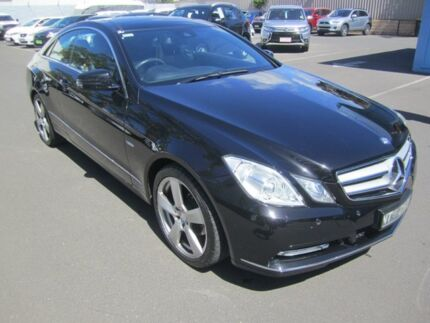 2011 Mercedes-Benz E250 CGI C207 Avantgarde Black 5 Speed Sports Automatic Coupe St Marys Mitcham Area Preview