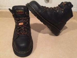 Dr. Martens Steel Toe Work Boots Men's Size 10, Women's 11