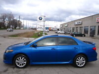 BARGAIN!! ONE OWNER!! IMMACULATE!! 2009 TOYOTA COROLLA  S London Ontario Preview