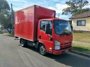 2012 Isuzu N Series NLR 200 Red Cab Chassis Lidcombe Auburn Area Preview