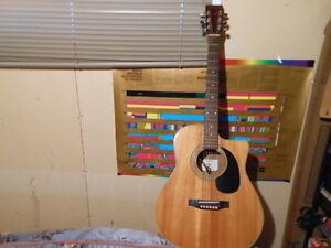 Guitare acoustique électrique Suzuki modèle SD335CE