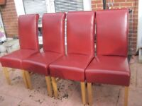 4 Lovely Chairs and a Table - - - £40 - - -