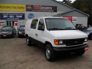 2006 Ford Econoline Cargo NEW TIRES READY FOR WORK