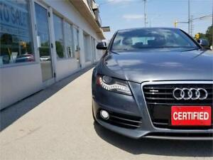 2009 Audi A4 3.2L S-Line Fully Loaded Accident Free Certified.
