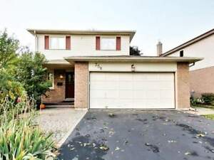 For lease : 3 beds whole house Oshawa Harmony / Rossland