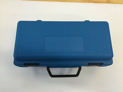 Empty Blow Mold Carrying Case / molded plastic / 12'' x 8'' x - Blow Molded Plastic Case