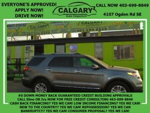 2013 Ford Explorer XLT * $99 DOWN EVERYONE APPROVED*